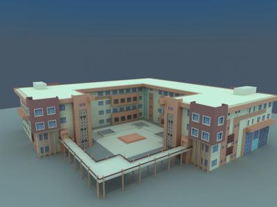 building Medical and Nursing college in University village-Duhok