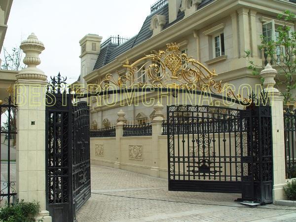 Villa gate design ideas : Kesta iron ornaments factory group